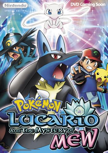 lucario and the mystery of mew 8th dvd coming to the uk news pkmn net
