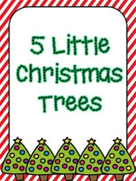 tree poems preschool song five trees standing all alone
