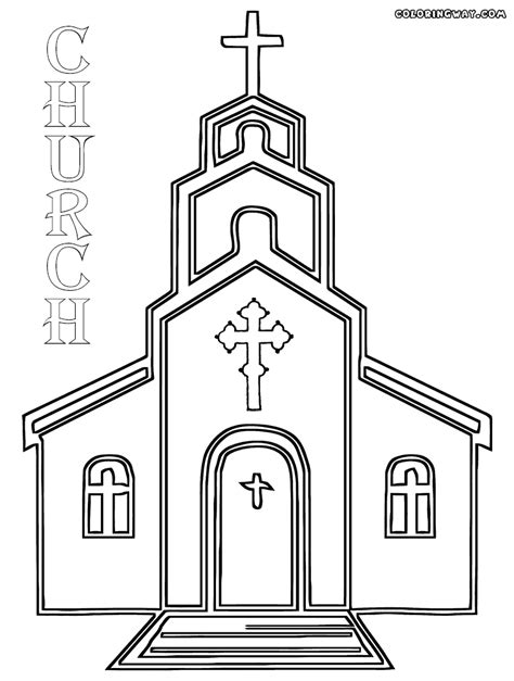 church for adults church coloring pages fablesfromthefriends