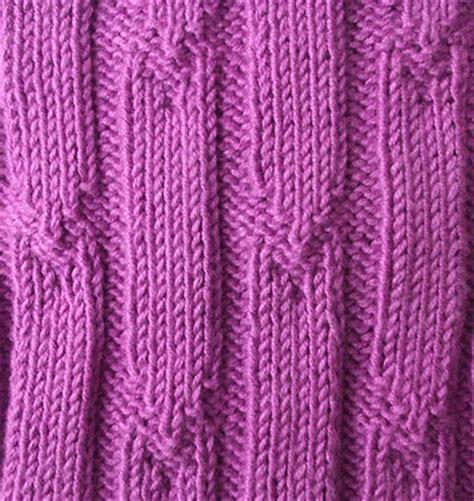 rib knit rib stitch tick rib
