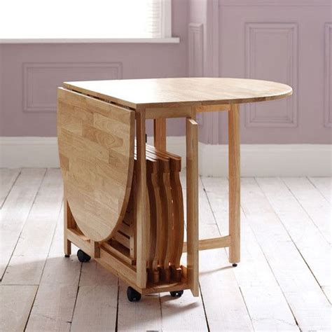 compact kitchen tables 20 compact tables and chairs that maximize limited space