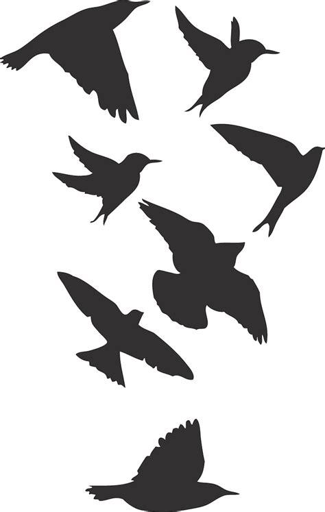 birds wall stickers birds wallpaper decal sticker black bird decals bird