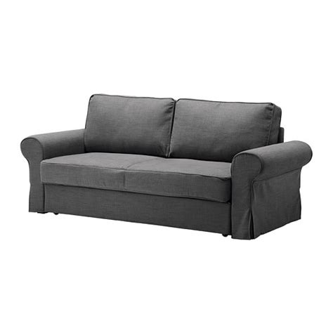ikea slipcover sofa backabro sofa bed slipcover svanby gray ikea