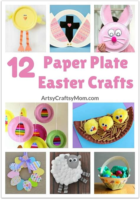 easter crafts with paper plates 12 adorable paper plate easter crafts