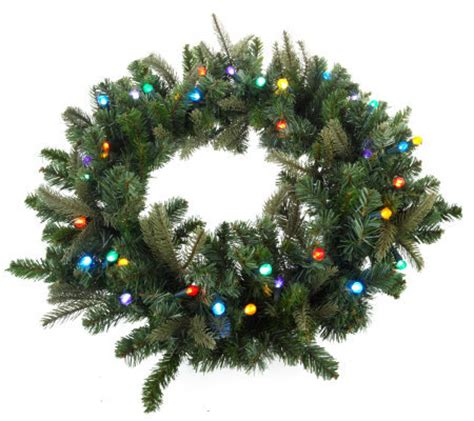 pre lit battery operated wreath with timer bethlehemlights batteryoperated 26 inch pre lit wreath