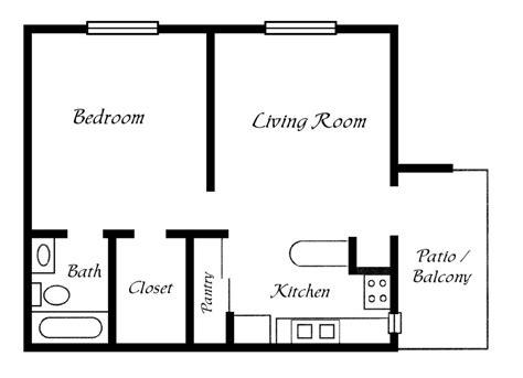one bedroom home designs one bedroom trailer floor plans studio design