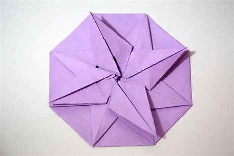 8 point origami how to make an origami 8 point with pictures wikihow