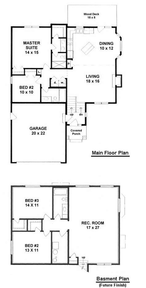 bi level home plans open floor plan bi level