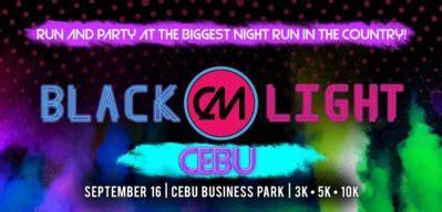glow in the paint cebu color manila blacklight run cebu leg 2017 just run lah
