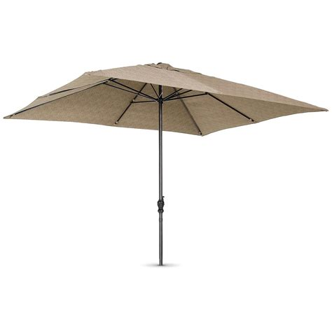 rectangular patio umbrella 8x10 rectangular umbrella khaki 161330 patio