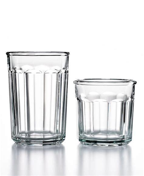 what is lwork glass luminarc glassware 16 working glass set