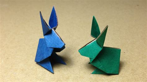 how to make a bunny origami how to make an origami rabbit