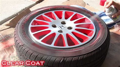 spray paint rims easy way to customize wheels with spray paint 2 tone