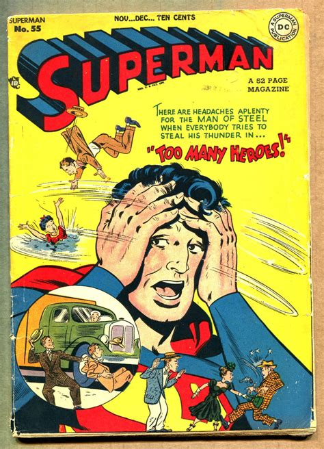 superman comic book pictures superman comic book values and prices issues 51 60