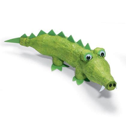 crocodile craft for crafty crocodile made from 2 plastic soda bottles bottle