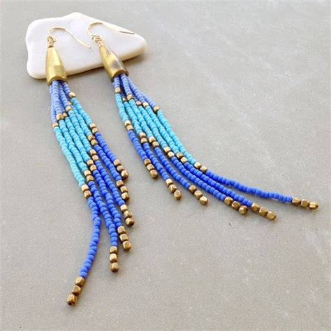 how to bead earrings with seed beaded earrings seed bead earrings gold fill ear wire