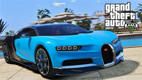 New Bugati by Gta 5 New 2016 Bugatti Chiron Fastest Car