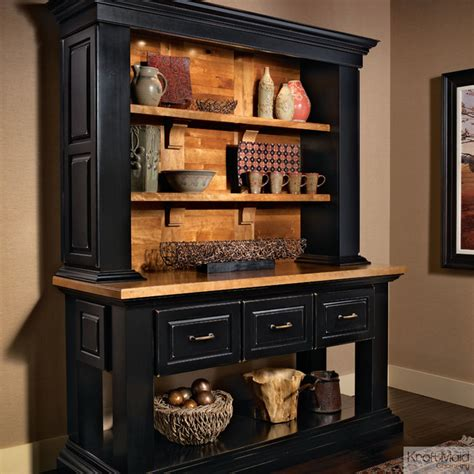 rustic black kitchen cabinets kraftmaid hutch in onyx rustic kitchen cabinetry