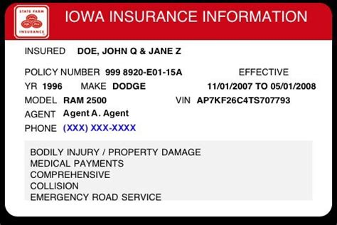 how to make a insurance card coverage insurance card coverage insurance