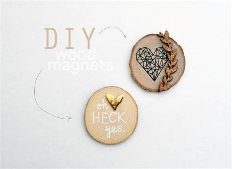 woodworking magnets diy wood magnets tangerine