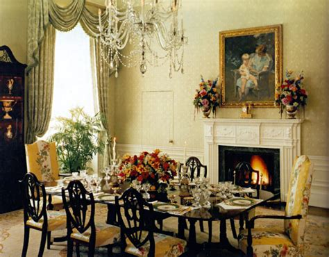 the dinning room family residence dining room white house museum