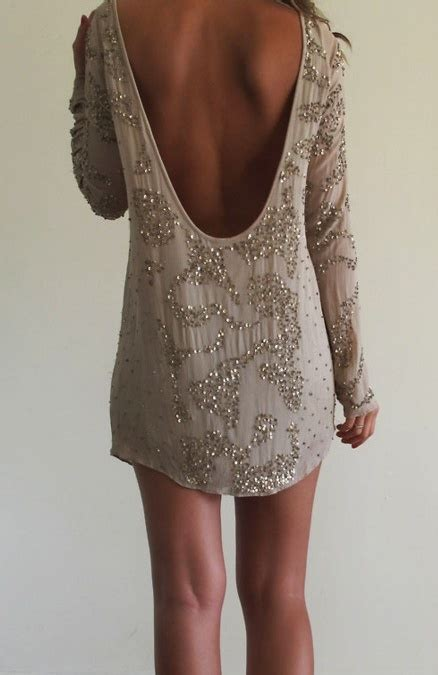 beaded dress backless beaded dress a sparkle