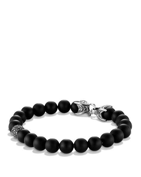 david yurman bead bracelet david yurman spiritual bracelet with black onyx