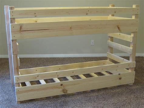 how to make bunk beds build your own wooden bunk beds image mag