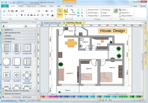 free home plan design software easy house design software