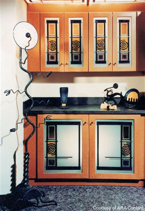 stained glass for kitchen cabinets kitchen cabinet with stained glass kitchen design photos