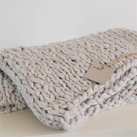how to knit chunky blanket chunky knit blanket interior stuff 1