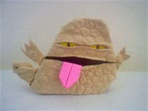 origami yoda finger puppet sf brioboy1s kit fisto and mace windu instrux origami