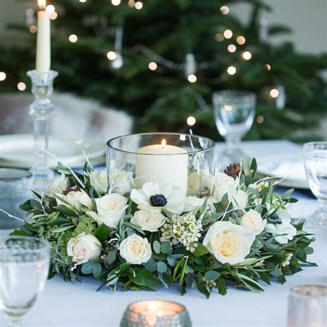 table centerpieces 25 unique winter table centerpieces ideas on
