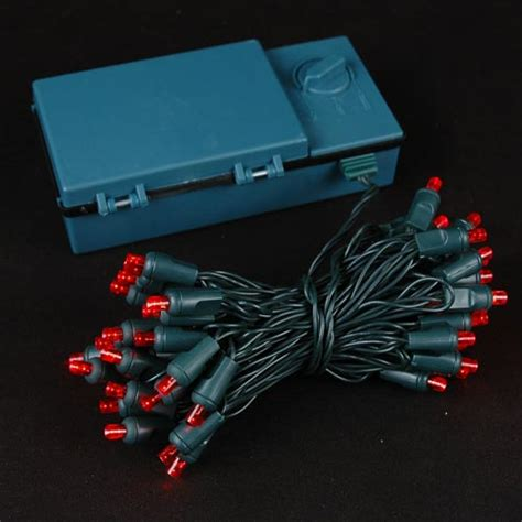light battery operated 50 led battery operated lights on green wire