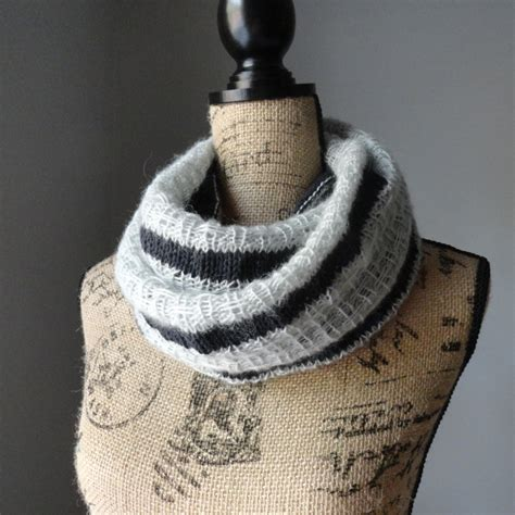 striped infinity scarf knitting pattern and summer scarves to knit free patterns