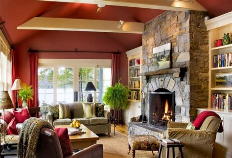 paint colors for living room with fireplace 44 charming living rooms with fireplaces marble buzz