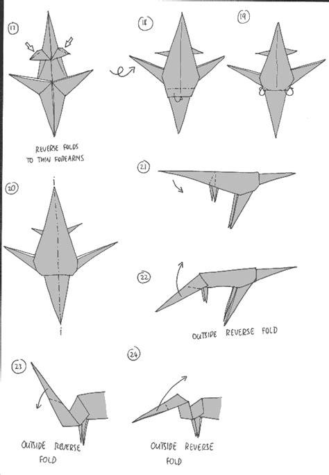 origami parasaurolophus parasaurolophus de papiroflexia cibercuentos