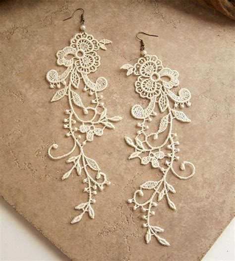 how to make lace jewelry diy inspiration lace jewelry 171 m j