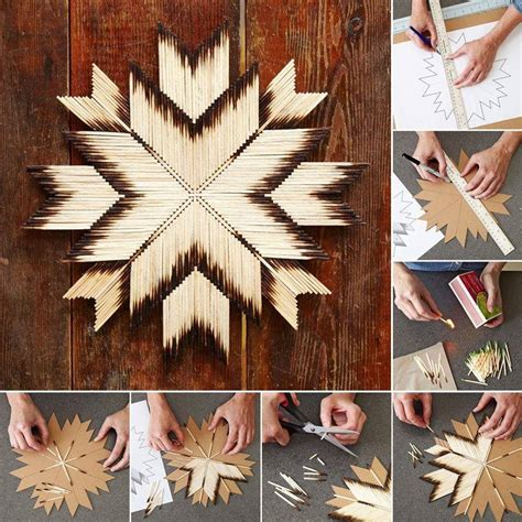 craft projects for the home diy craft project made using matches find