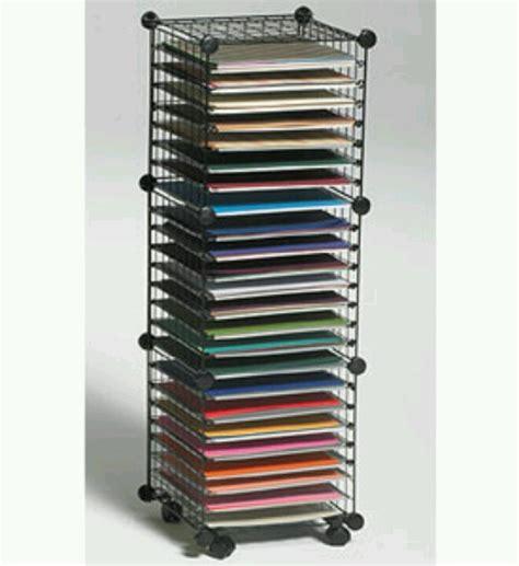 craft paper storage rack 12 x 12 paper storage cube cricut techniques