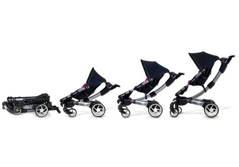 4moms origami stroller baby stroller sports lcd display headlights phone