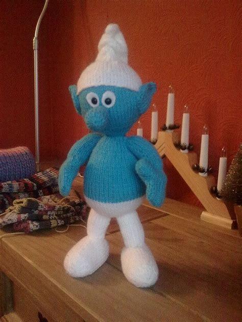 Knitted Smurf Smurfs