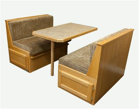 rv kitchen tables rv dinette seating dave lj s rv furniture interiors