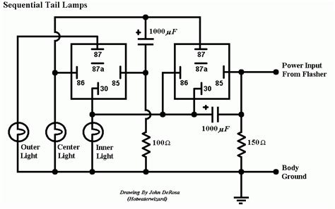 sequential lights led turn signal schematic led free engine image for user