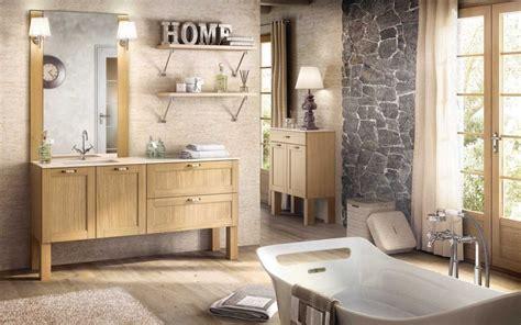 meuble de salle de bain avec vasque et miroir photo 1 20 un esprit de cagne r 232 gne dans