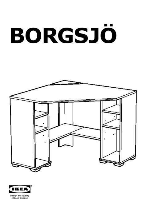 ikea borgsjo corner desk borgsj 214 corner desk brown ikea united states ikeapedia