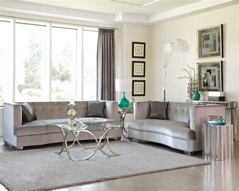 grey living room furniture set sleek silver gray grey velvet sofa loveseat living room