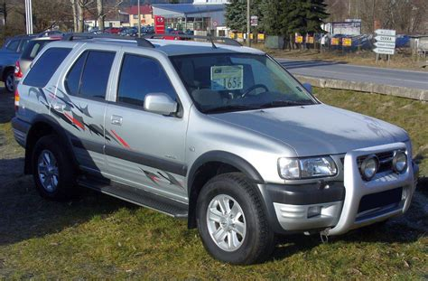 view of opel frontera 2 view of opel frontera 2 2 i mt photos features