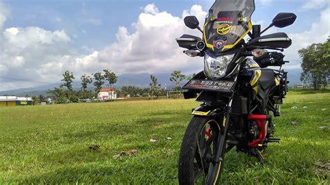 Modifikasi Motor Touring by 100 Gambar Motor Modifikasi Vixion Touring Terlengkap