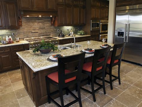 eat in island kitchen 77 custom kitchen island ideas beautiful designs designing idea